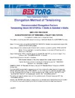 BESTORQ-ElongationMethodofTensioning